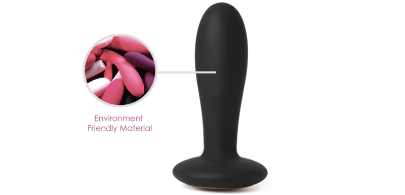 Environment Friendly Material anal plug for man