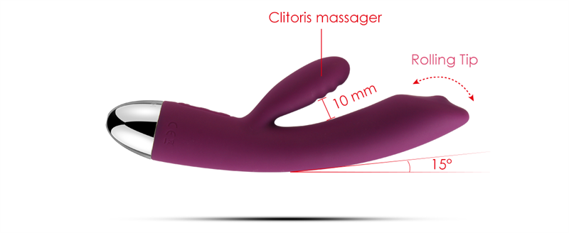 Brand new clitoris massager design g spot vibration