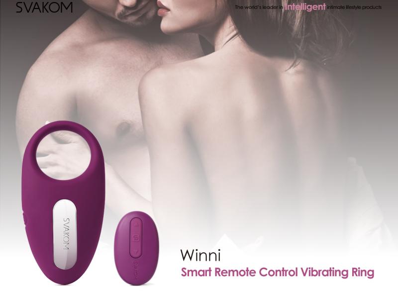 winni smart remote control vibrating